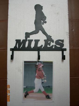 Copy of Little League Baseball Player - Custom Metal Artwork - Lexington, KY