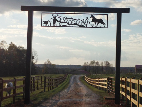 Customer reviews with photos for Ranch entrance designs