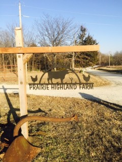 Missouri Farm Sign
