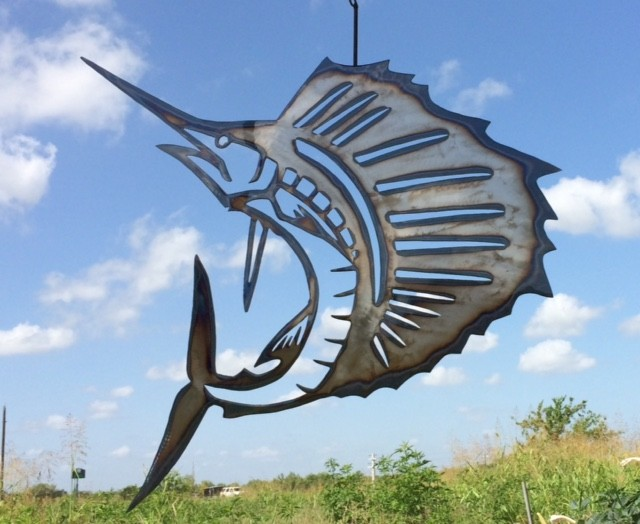 Sail Fish Wall Art