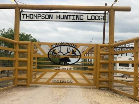 Thompson Hunting Lodge Installed