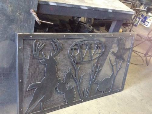 Custom Fireplace Screen - Custom Fireplace Screen - Photo Blog - See My Latest Custom Metal