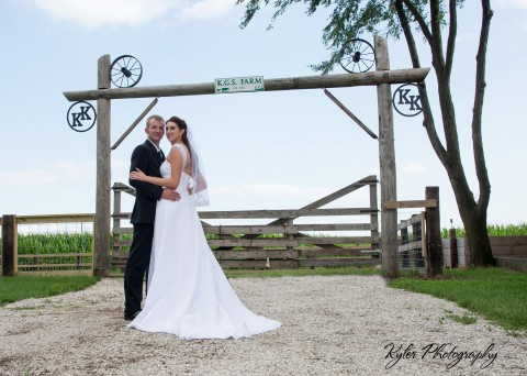 Wedding gift for young farmers in Illinois